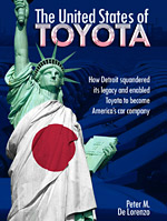 Read the rest: Peter M. De Lorenzo recounts the rise of Toyota in the U.S. in 'The United States of Toyota.'