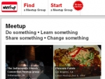 Meetup Goes From Social Organizer to Brand-Building Tool