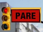 In Uruguay, a Red Light Means Stop -- and Read the Ad
