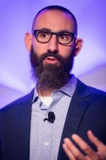 REI Chief Creative Officer Ben Steele at Ad Age's 2016 Brand Summit.