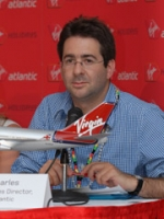 Paul Charles, director of communications, says Virgin Atlantic has been consistent with it's 'green' message.