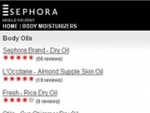 Sephora Simplifies Selection Process With Mobile Reviews
