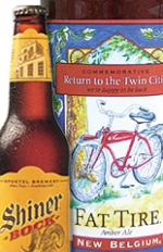 Now available: Fat Tire expanded into Minneapolis; Shiner is sold in Chicago.