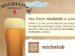 Trouble May Follow A-B's Twitter Use for Michelob