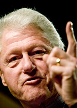 'Comeback id'? Vanity Fair has Bill Clinton boiling mad.
