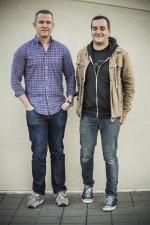 Brad Phifer (l.) and Brad Kayal