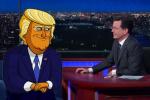 ICYMI: Watch Cartoon Donald Trump Explain Math to Stephen Colbert