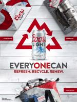 Coors Light 'Every One Can' poster