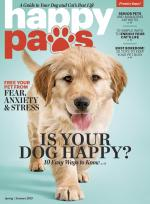 The debut issue of Happy Paws.