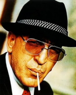 Telly Savalas wasn't exactly subtle as Kojak.