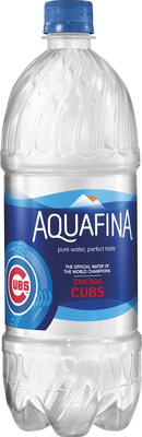 Pepsi Cola Company launches limited-edition Aquafina bottles.