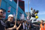 Watch the SAG/AFTRA rally outside BBH in Los Angeles