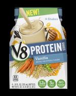 New V8 Protein Shakes