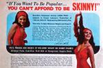 In this vintage ad for Wate-On, a promise to help 'skinny' girls put on pounds