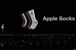 Just in time for Christmas: Apple Socks!