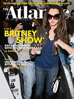 The usually sober Atlantic magazine surprised readers with a Britney cover recently.