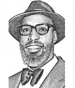 Baron Davis in a Journal stipple portrait.