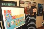 Cause Marketing: Bank of America Showcases Teen's Artwork