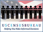 The Census Bureau's account is for three years and 250 million to $300 million.