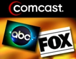 All of the Big Four -- ABC, Fox, CBS and NBC -- will now be making their prime-time shows available via Comcast's video-on-demand.
