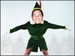 Eat That, Subservient Chicken: OfficeMax ElfYourself Site Draws 36 Million
