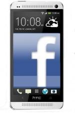 Facebook on an HTC phone