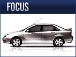 Ford's Focus is aimed at the growing market for smaller, more fuel-efficient cars.