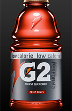 Gatorade's G Force Leaves No Sweat Behind