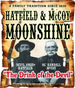Real Hatfields and McCoys Really Feud Over Moonshine Brand Names