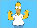 Doh! Homer Simpson in Just One Second