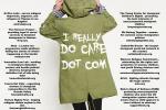 Ireallydocare.com set up to counter Melania Trump's jacket stunt