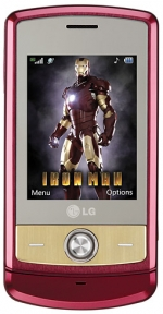 LG is producing a limited number of 'Iron Man' phones that will be given to publishers to use as prizes in magazine promotions and other sweepstakes.