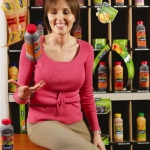 Natural Selection: The best way to sell juice? Show it, spots and all, says Senior Marketing Director Kimber Ward.