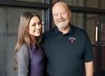 Mila Kunis and master distiller Fred Noe