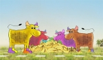Norway's Tweeting Cows Pick Next Flavor for Litago Milk
