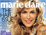 Average total circulation was up at 'Marie Claire,' but newsstand sales had slipped in recent years.