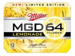 Miller to Introduce Lemon-Flavored Version of MGD 64