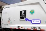 NYC Garbage Trucks Take QR Codes Mainstream