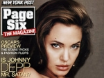Advertisers' appearance in the first issue of 'Page Six' magazine, which featured Angelina Jolie on the cover, and the Page Six gossip column is 'purely coincidental.'