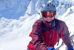Research Group President Chases Sky-High Fresh Powder