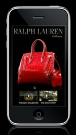 Ralph Lauren has bested many of its luxury peers in the mobile space with its iPhone app.
