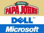 Papa John's, Dell and Microsoft were some of the companies started as shoestring operations by single indviduals who refused to think or act small, even though they were. ALSO: Comment on this column in the 'Your Opinion' box below.