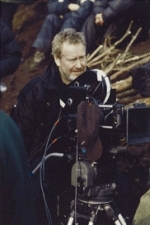 Ridley Scott on the set of