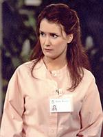 CosmoGirl Editor in Chief Susan Schulz as nurse Wuornos on 'General Hospital.'