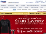 Sears Brings Back Layaway Program
