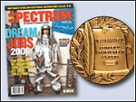 IEEE Spectrum Wins Grand Neal Award