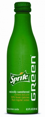 Sprite's coming Green product creates a new calorie midrange tier between its regular and diet versions.