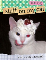 'Stuff on My Cat' has gone from website to book.
