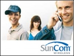 SunCom provides digital service to more than 1 million subscribers in southeastern states and the Caribbean.