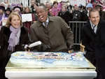 Katie Couric shows off her banter with 'Today' co-host's Al Roker and Matt Lauer.